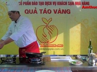 Sò điệp sốt bơ tỏi (Vào bếp cùng Sao - số 43) - tapchiamthuc.vn - amthuc.tv