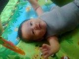 Premiers Sourires Bébé Saïan - 08 juin 2011 - 2 mois