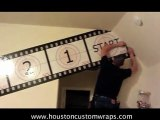 Houston wall Murals Wraps - Wall Graphics Wraps