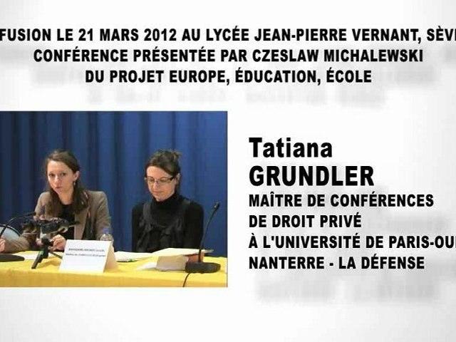 Le sexe et le droit,  Tatiana GRUNDLER et Camille BORDAIRE-MIGNOT