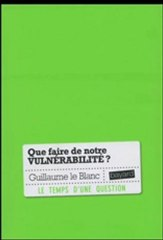 Vid�o de Guillaume Le Blanc