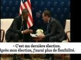 Obama et Medvedev, piégés par les micros
