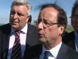 """Hollande au Cap Gris-Nez : """"Ma vision de la mer"""""""