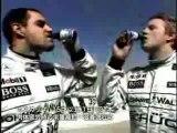 Kimi Räikkönen and Juan Pablo Montoya Vitamin  Drink Advertisment