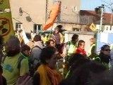 Cyril Kretzschmar - Chaine Humaine pour Sortir du Nucléaire - 11 MARS 2012