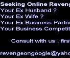Seeking Revenge  on the Web -Seeking Revenge  on the Web