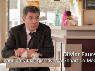 """Olivier Faure : """"Pourquoi je vote François Hollande"""""""