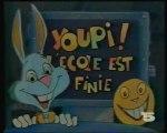 La Cinq (1989) : Youpi l'ecole est fini (Générique)