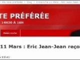Eric Zemmour - Invité Ma Liste préférée RTL Eric Jean-Jean - 11 mars - Partie 1