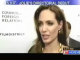 Angelina Jolie walks red carpet for directorial venture