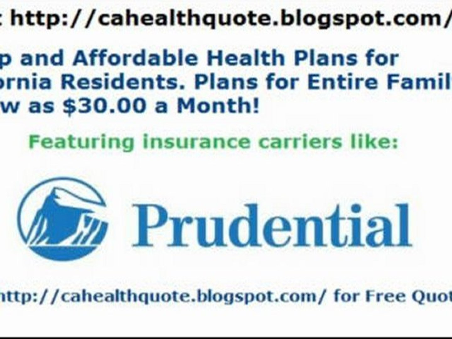 Affordable California Health Insurance - Lowest Cost Plans - Free Quotes