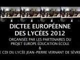 Dictée européenne - édition  2012, Jean-Pierre COLIGNON