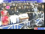 Tamil superstar Rajinikanth off to Singapore for treatment