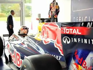 Red Bull F1 car at Pebble Beach Concours d'Elegance, PowerBrake Tv