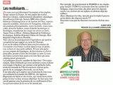 la chasse aux écolos !! mais quels écolos ?? - les malfaisants .. Gilbert Bros, président de la chambre d'agriculture de Haute-Loire - l'agriculture française va mal !!