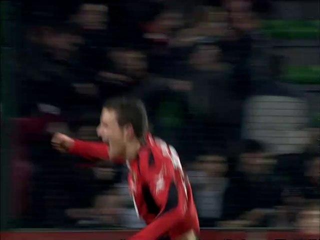 27/01/07 : Romain Danzé (6') : Rennes - Valenciennes (1-0)