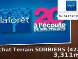 Vente - terrain - SORBIERS (42290)  - 3 311m²