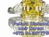 Canary Diamond Engagement Rings- yellow diamond rings