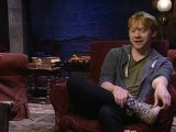 Rupert Grint visits new Harry Potter studio tour