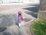 Juliette fait du footing Mars 12