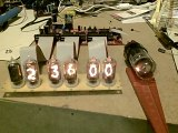6 Digit Nixie Clock with Dekatron Pendulum