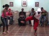 Février 2012.Stage de SALSA Y Cours de Rumba avec Johnson eL RUMBERO MAYOR, Nana et la troupe COCOYE