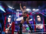 Rock vs John Cena WWE WrestleMania XXVIII 2012 Heighlights