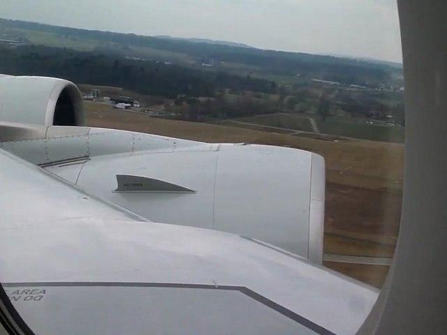 décollage a380 zurich vid