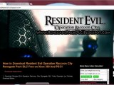 Resident Evil Operation Raccoon City Renegade Pack DLC Redeem Codes  Xbox 360 - PS3