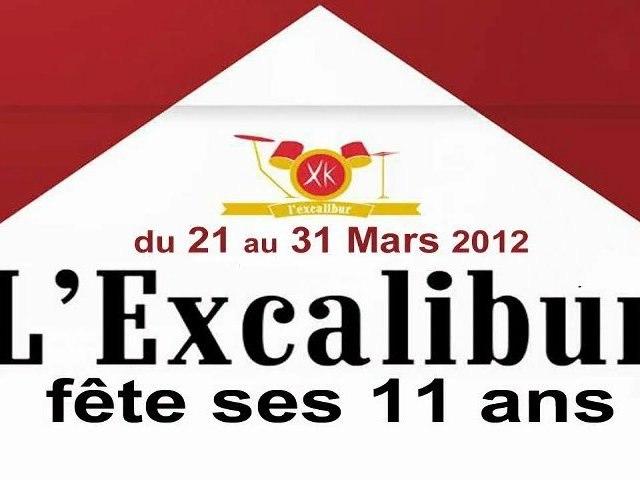 L'Excalibur fête ses 11 ans
