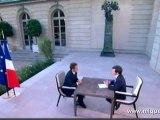 12 juillet 2010 - Sarkozy s'explique sur Woerth et Bettencourt