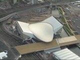 London 2012 Olympics Aquatics Centre Ariel Views