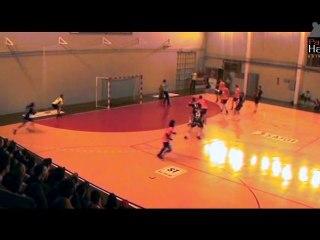 Mickaël Illes marque le but de l'année en handball