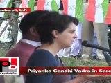 Priyanka Gandhi Vadra in Sareni (Raebareli) Development should be the main agenda