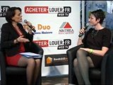 Interview Alexandra Desrosiers-François - BDM RESIDENCE - Salon national de l'immobilier 2012