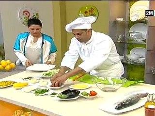 recette saumon choumicha farcie au legumes