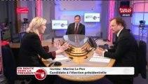 EN ROUTE VERS LA PRESIDENTIELLE,Invitée : Marine Le Pen