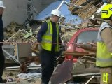 Gas explosion destroys house in Clacton, Essex