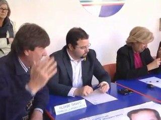 Di Cuia - Bellacicco, conferenza stampa a Taranto