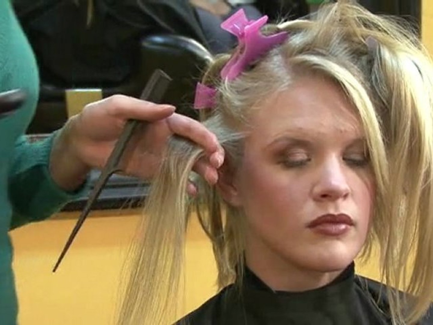 Hair Style Techniques - How to Flat Iron