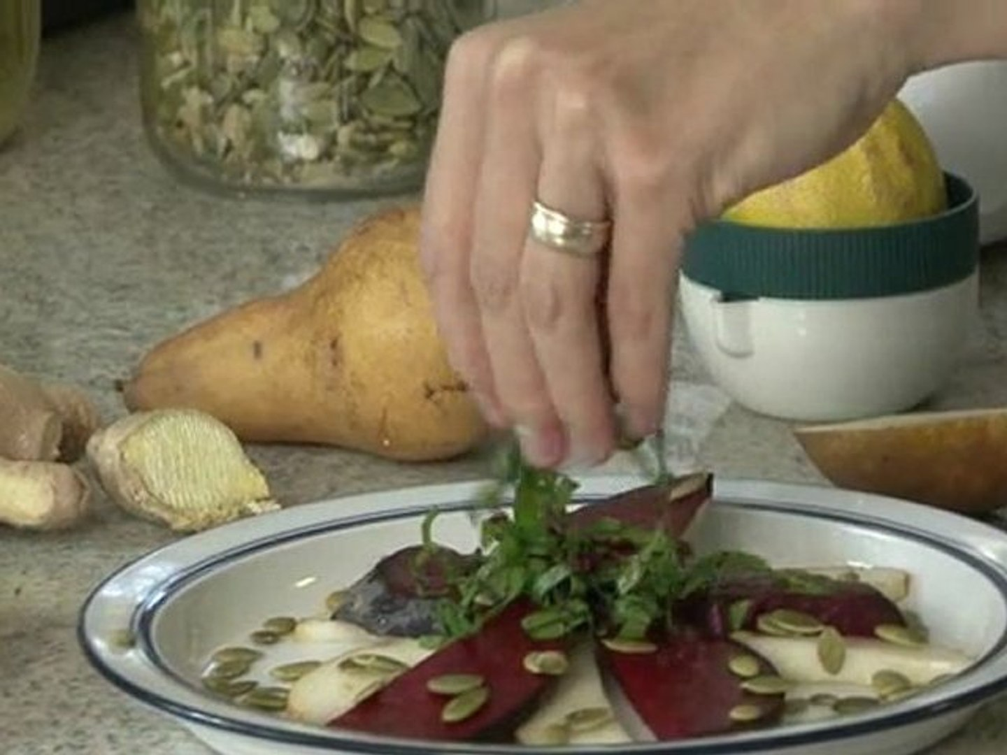 Root Vegetables - How to Make a Roasted Beet Salad