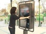 Mobilier Urbain Intelligent : le panneau à réalité augmentée