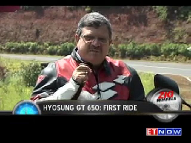 ZigWheels – HYOSUNG GT 650 – First Ride