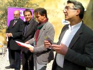 """Patrick Battesti et """"Les Rêveries"""", le spectacle donné au Bel Image à Valence lors du tricentenaire Rousseau"""