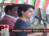 Priyanka Gandhi Vadra in Sareni (Raebareli) Support Congress for the bright future of the people