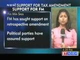 FM : Retrospective amendment, Political support for FM