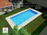 Piscines Caron : montage d'une piscine en béton. Piscines-caron.com