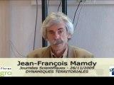 JS 2009 : Jean-François Mamdy - Le processus de création d'activité à l'étude (en zone rurale principalement)