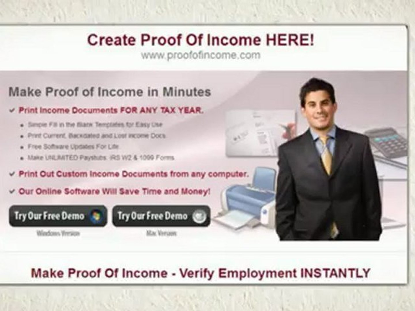 Need Proof Of Income Fast Download Paystubs W2 And 1099 Forms Online For Free Video Dailymotion