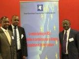 Interview de l'Ambassadeur Henri Mova à Radio Okapi sur le volet mobile banking du FECUE
